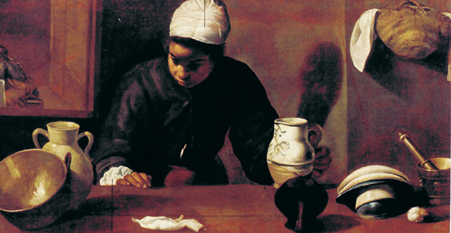 3 - Velázquez, La mulatta