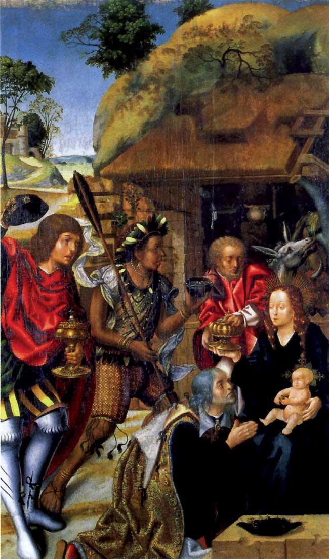 Adorazione dei Magi, anonimo portoghese