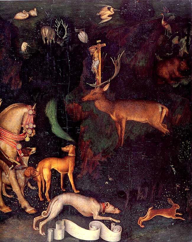 Pisanello, Visione di Sant'Eustachio