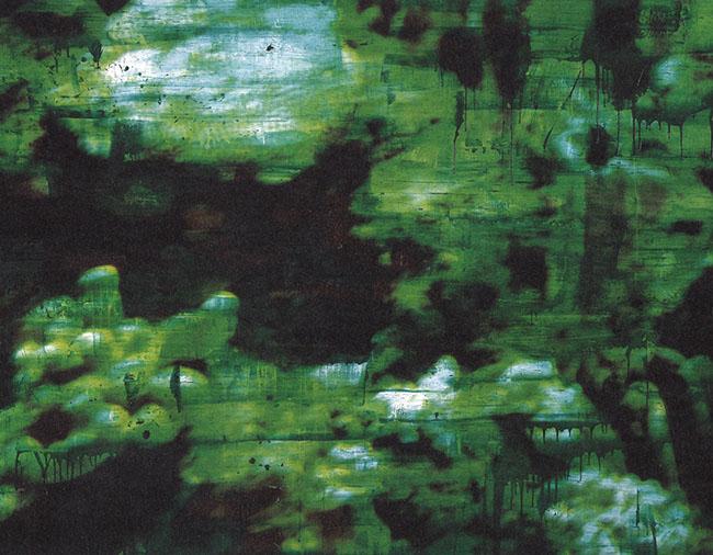 Giovanni Frangi: Serie Underwater , Nokuku I , 2007 cm 200 x 260