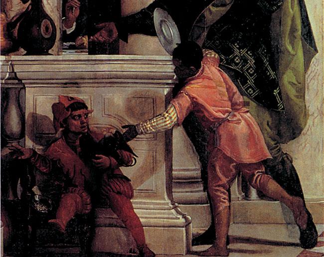 1 - la Cena in casa di Levi di Paolo Veronese (Venezia, Accademia),