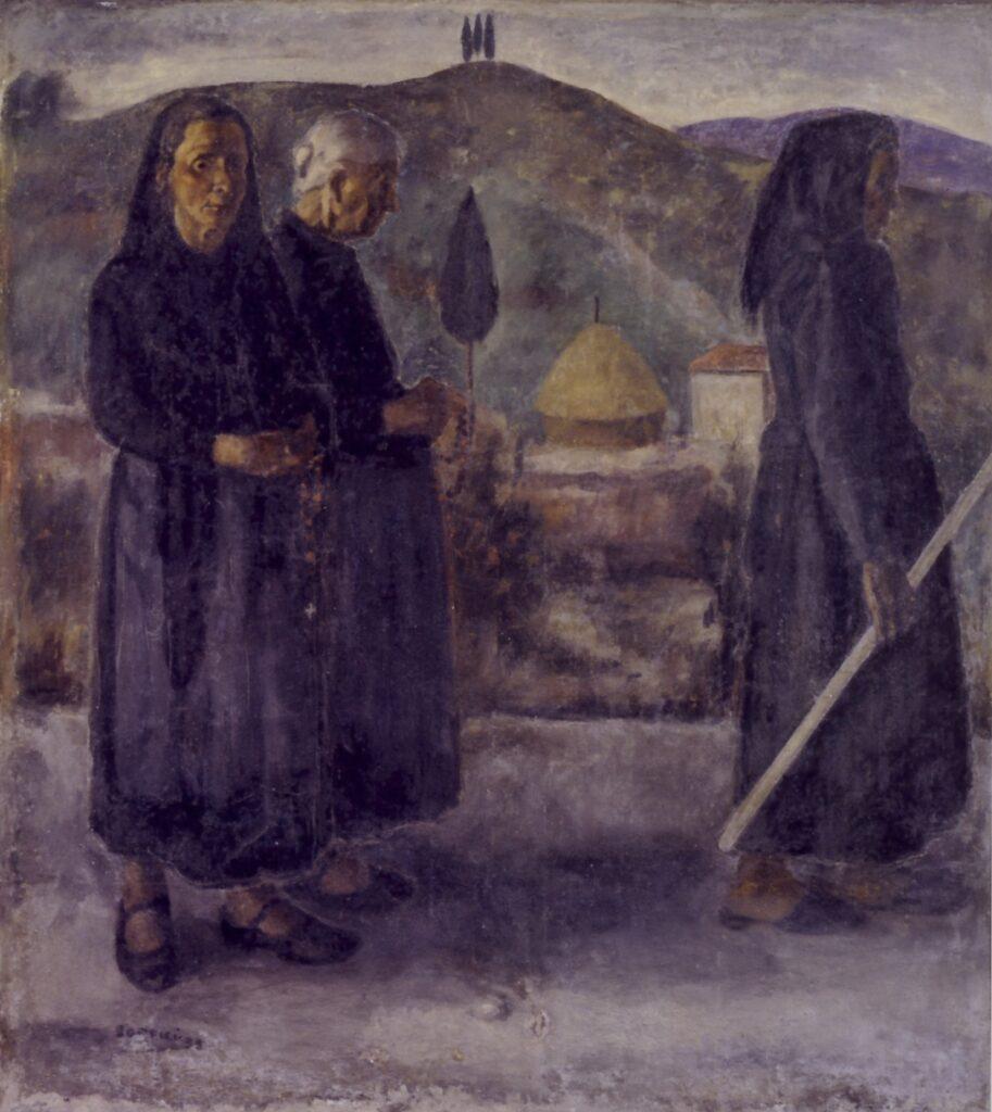 Ardengo Soffici, Processione, 1933