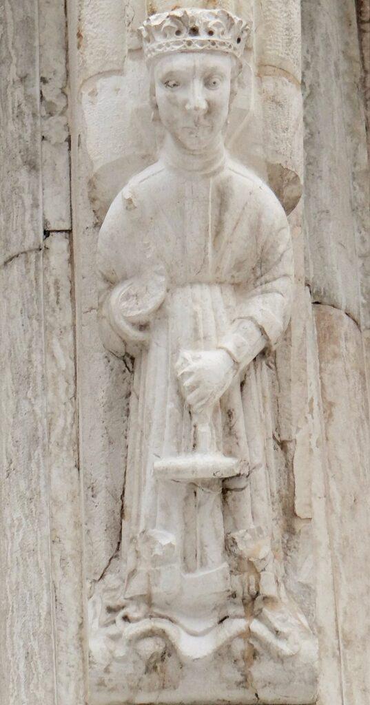 Brorletto di Brescia, Loggia delle Grida, La Giustizia