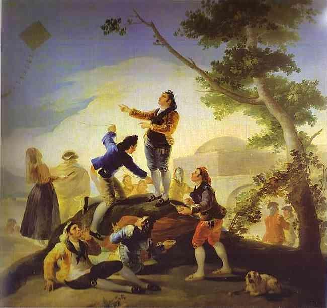 Fig. 5 Goya, L'aquilone,  1777.78