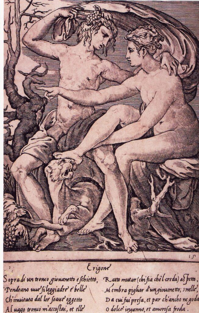 Gian Giacomo Caraglia, Bacco e Erigone