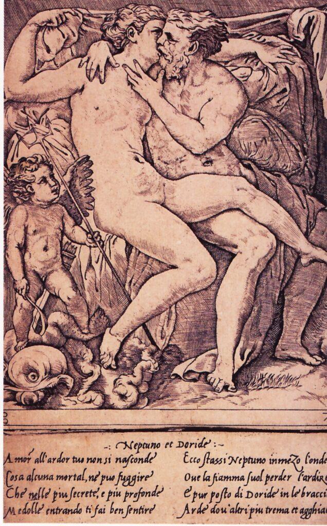 Gian Giacomo Caraglio, Nettuno e Doride