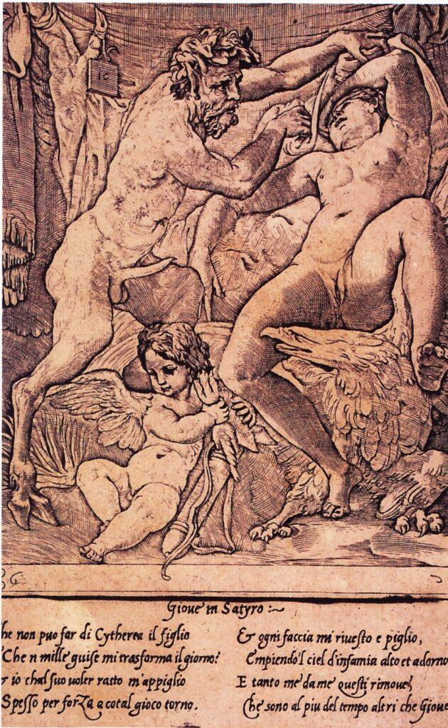 Gian Giacomo Caraglio, Giove e Antiope