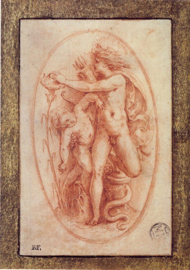 Perino del Vaga, Apollo e Giacinto