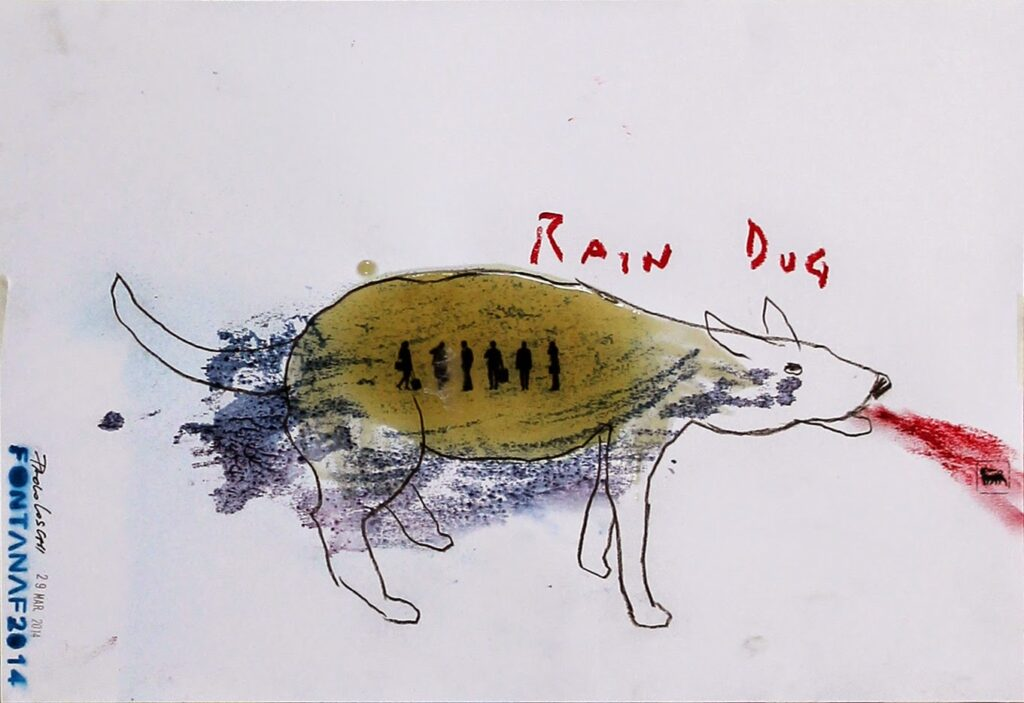 RAIN DOG  Fabrizio Fontana & Paolo Loschi © All rights reserved cm 33 x 48