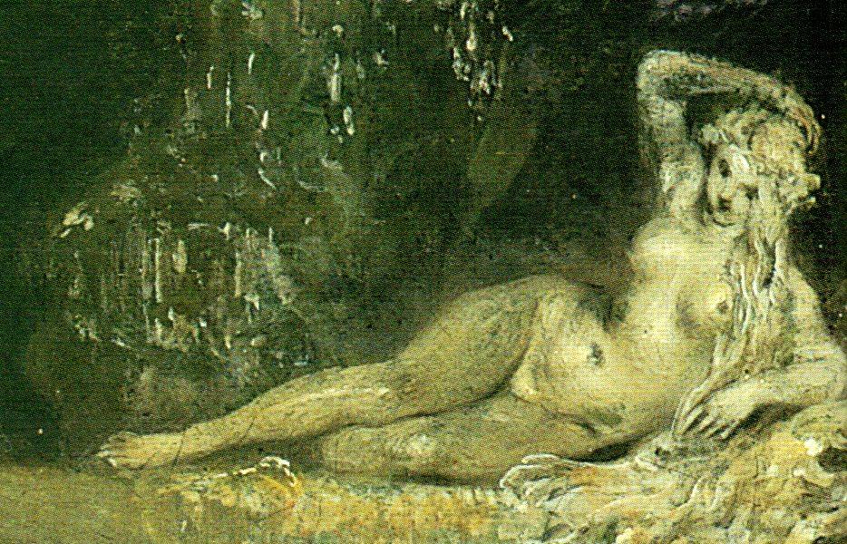 fig. 1, Watteau, Feste veneziane (particolare), 1718-1719
