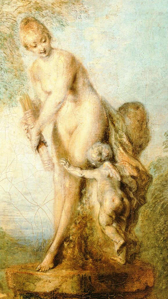Particolare - Piaceri amorosi - 1717-18