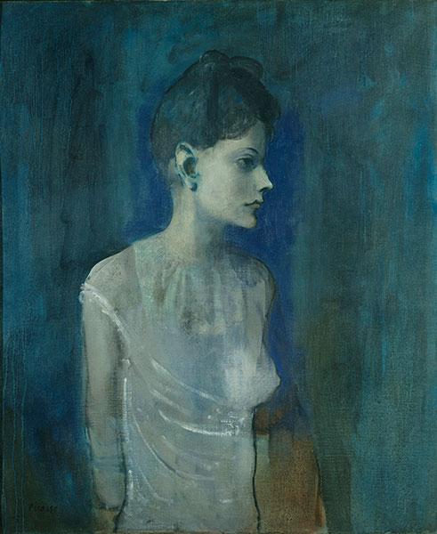 Pablo Ruiz Picasso Ragazza in camicia, 1905 Olio su tela 72,7 x 60 cm  Londra, Tate. Lascito di C. Frank Stoop, 1933