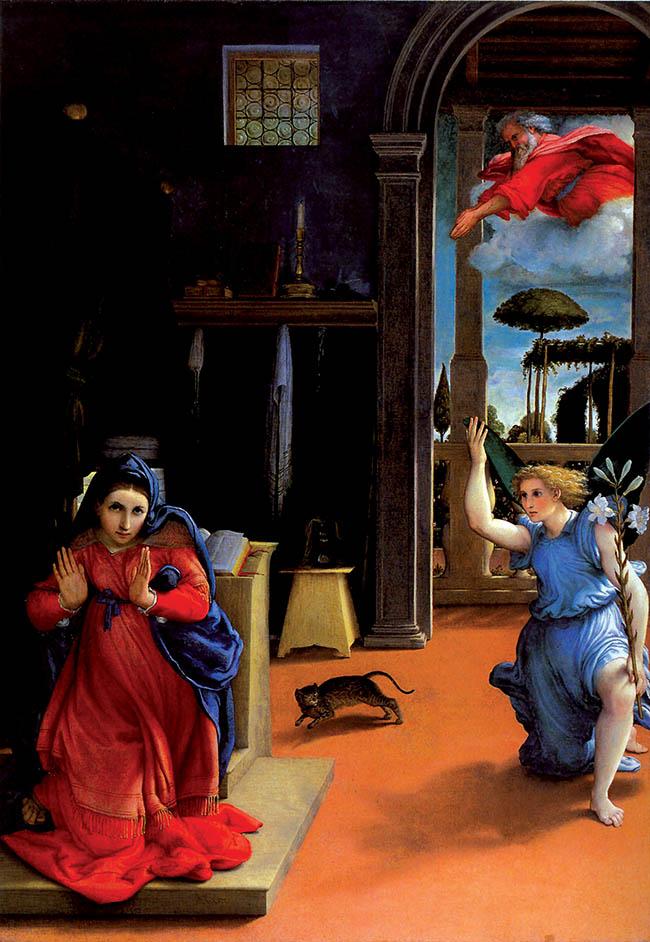 Lorenzo Lotto, Annunciazione