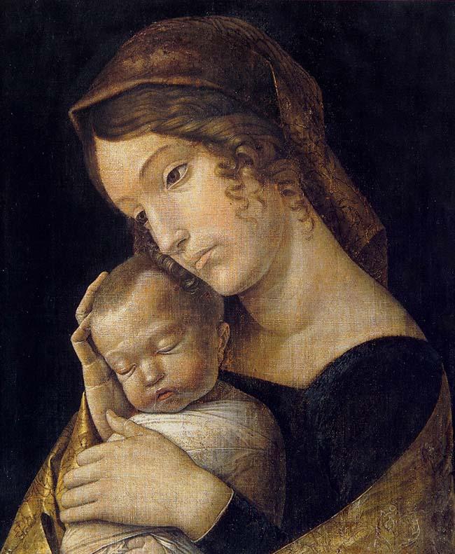 Andrea Mantegna, Madonna con il Bambino addormentato