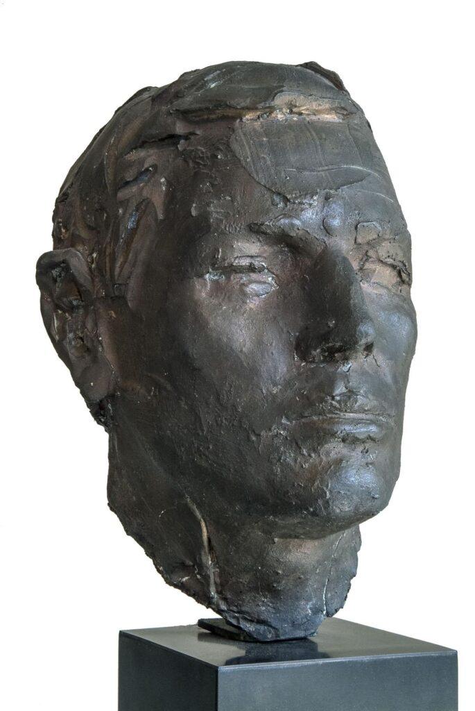 Giacomo Manzù, Ritratto di Barnard, 1969