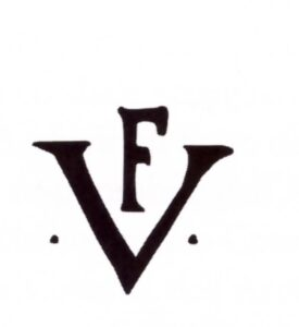 Il monogramma F V, utilizzato da Gualtieri