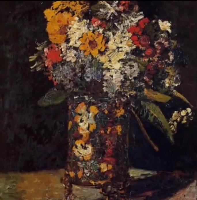 Una delle opere di Monticelli a cui si riferisce Van Gogh nella lettera al fratello