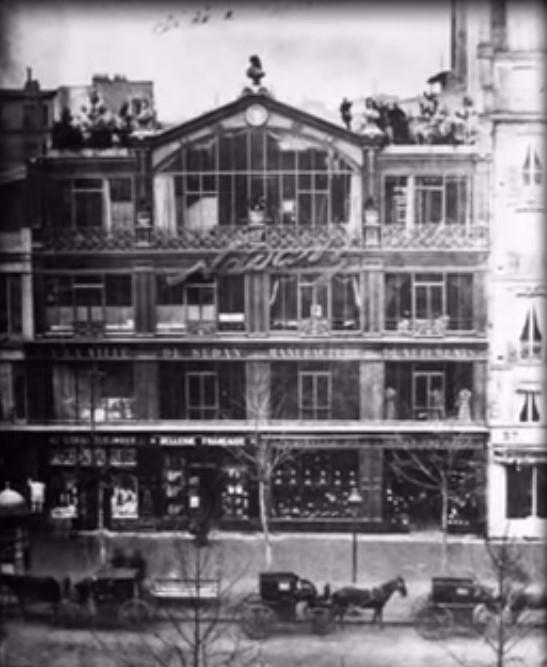 Lo studio di Nadar in cui, nel 1874, avvenne la prima mostra degli Impressionisti