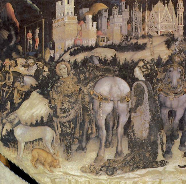 Pisanello, Partenza di San Giorgio