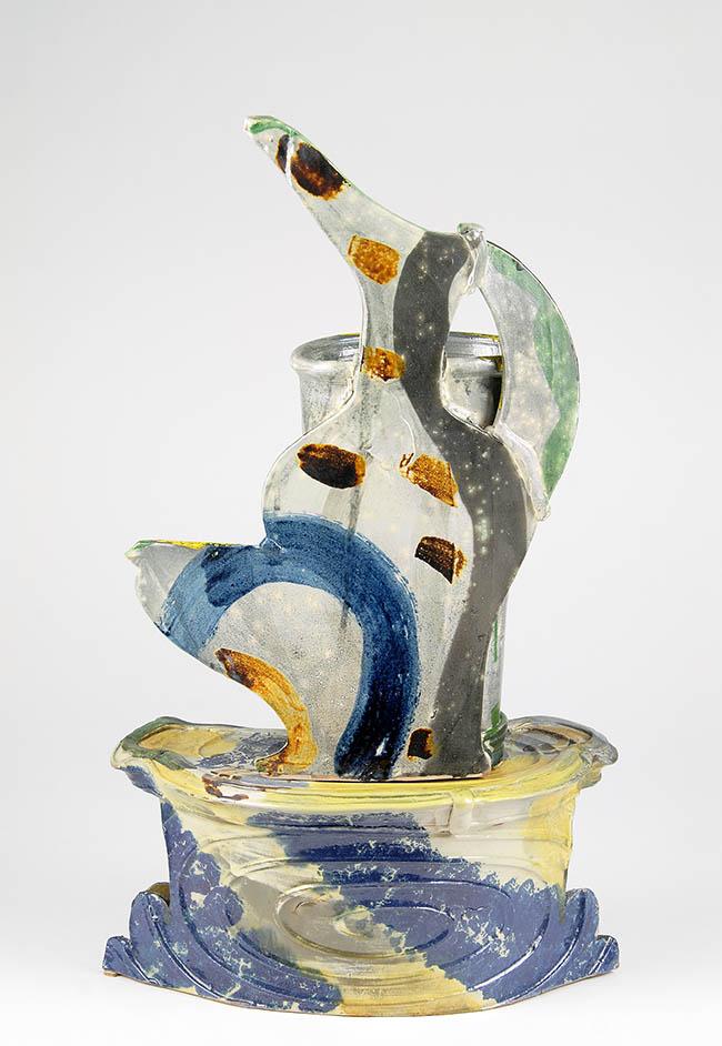 Betty Woodmann (Usa), Caffettiera, anni '90, terraglia
