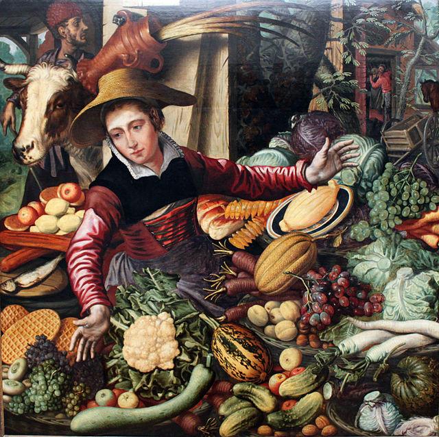 Pieter Aetrsen, La fruttivendola