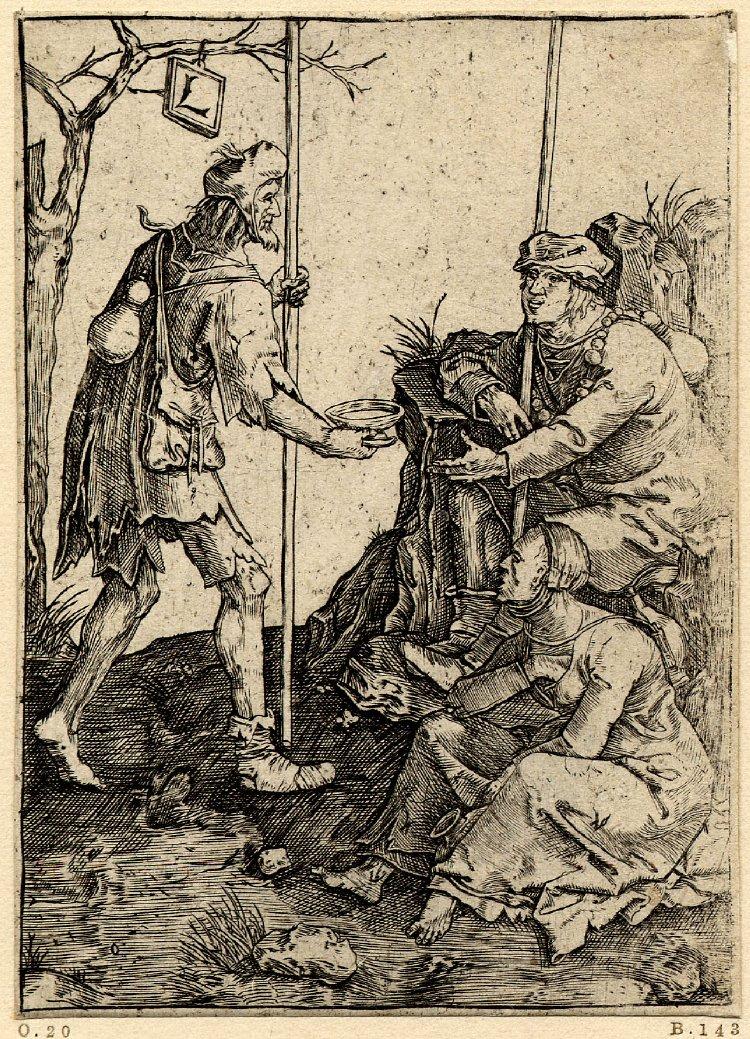 Van Leyda, Mendicante, 1509