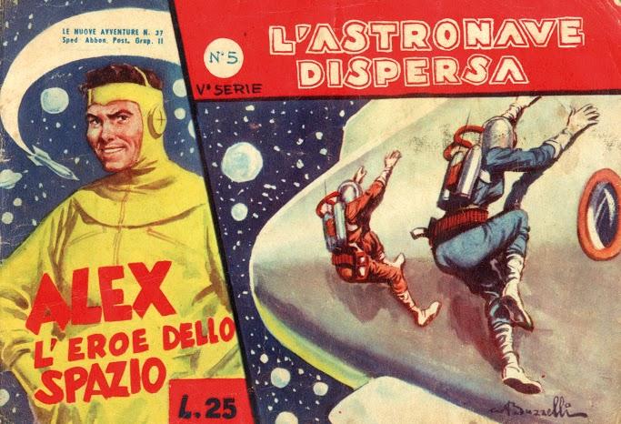 1953-L'ASTRONAVE DISPERSA-N°5