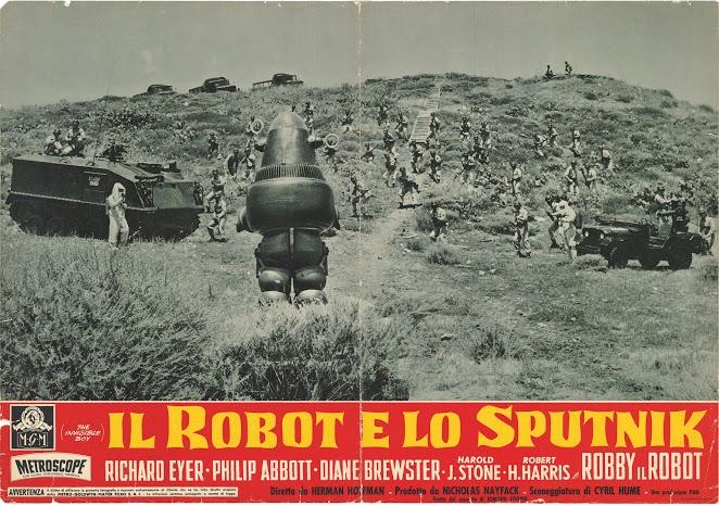 1957- IL ROBOT E LO SPUTNIK