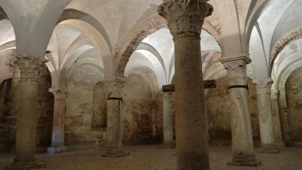 Cripta, Brescia ,Duomo Vecchio vecchio o Rotonda
