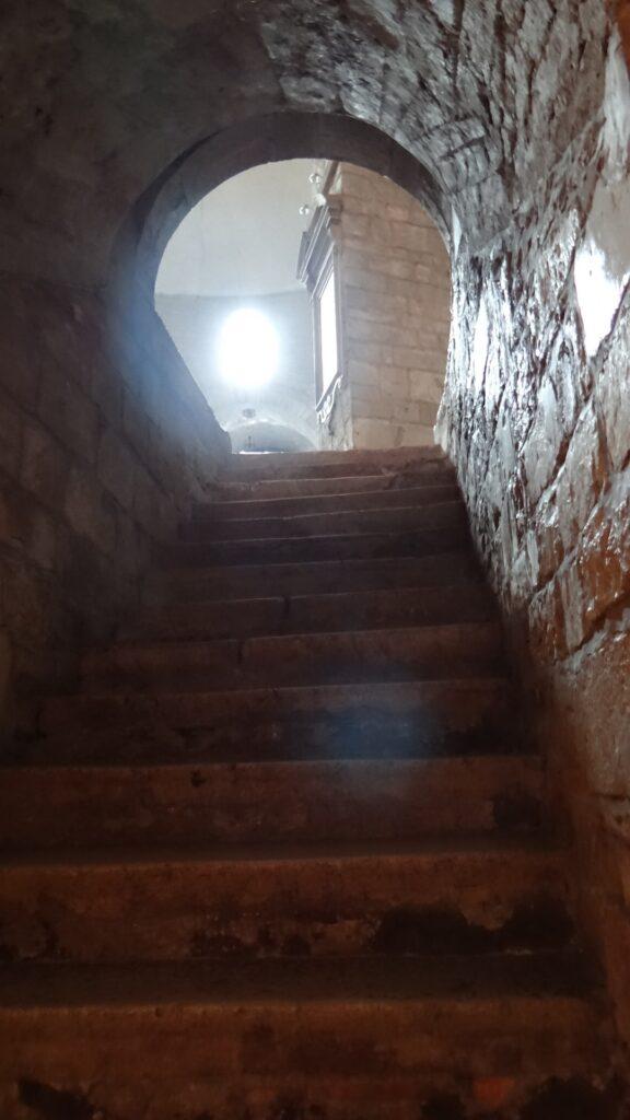 Scala della Cripta, Brescia ,Duomo Vecchio vecchio o Rotonda