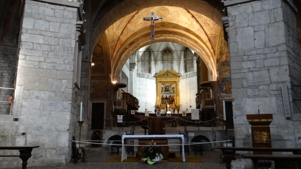 Altar maggiore, Brescia, Duomo Vecchio vecchio o Rotonda