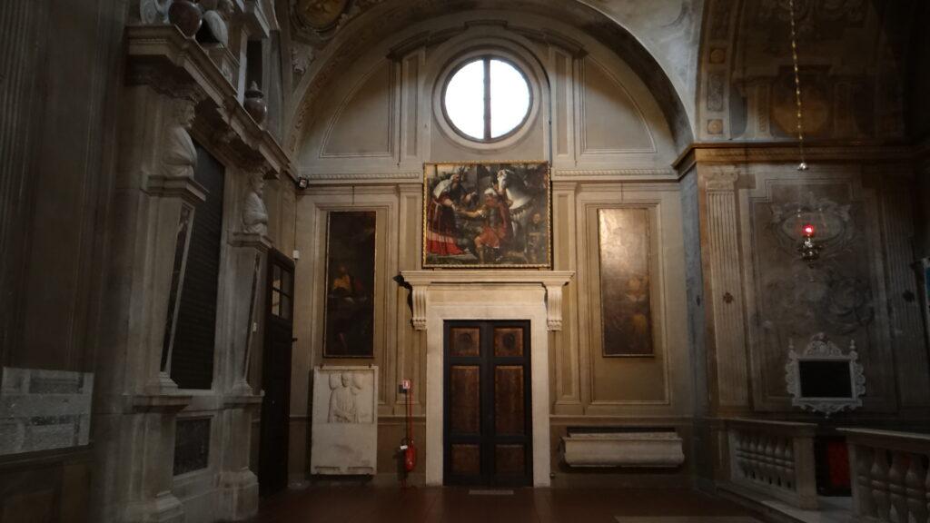 Transetto destro, Brescia Duomo Vecchio vecchio o Rotonda