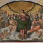 Antonio Marone o Maroni (?) Assunta, olio su tela, lunettone absidale del santuario di santa Maria della Stella