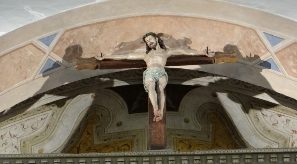Antonio Montanino, Crocifisso ligneo, 1633, Santuario della Madonna della Stella
