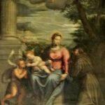 Pietro Marone (attr.), Il perdon d'Assisi, second metà del XVI secolo, olio su tela, Santuario della Madonna della Stella