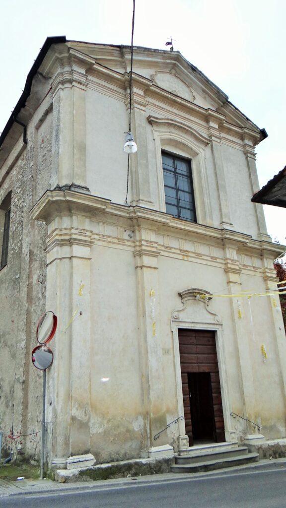 La chiesa di Navezze, frazione di Gussago (Bs), dedicata a san Francesco Ferrer. Venne edificata a metà del Settecento e conclusa nel 1751, come risulta dall'iscrizione incorniciata nel Timpano timpano