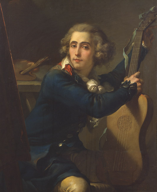 Mauro Gandolfi (Bologna, 1764 - ivi, 1834),Autoritratto,olio su tela, inv. 409. Bologna, Pinacoteca Nazionale.