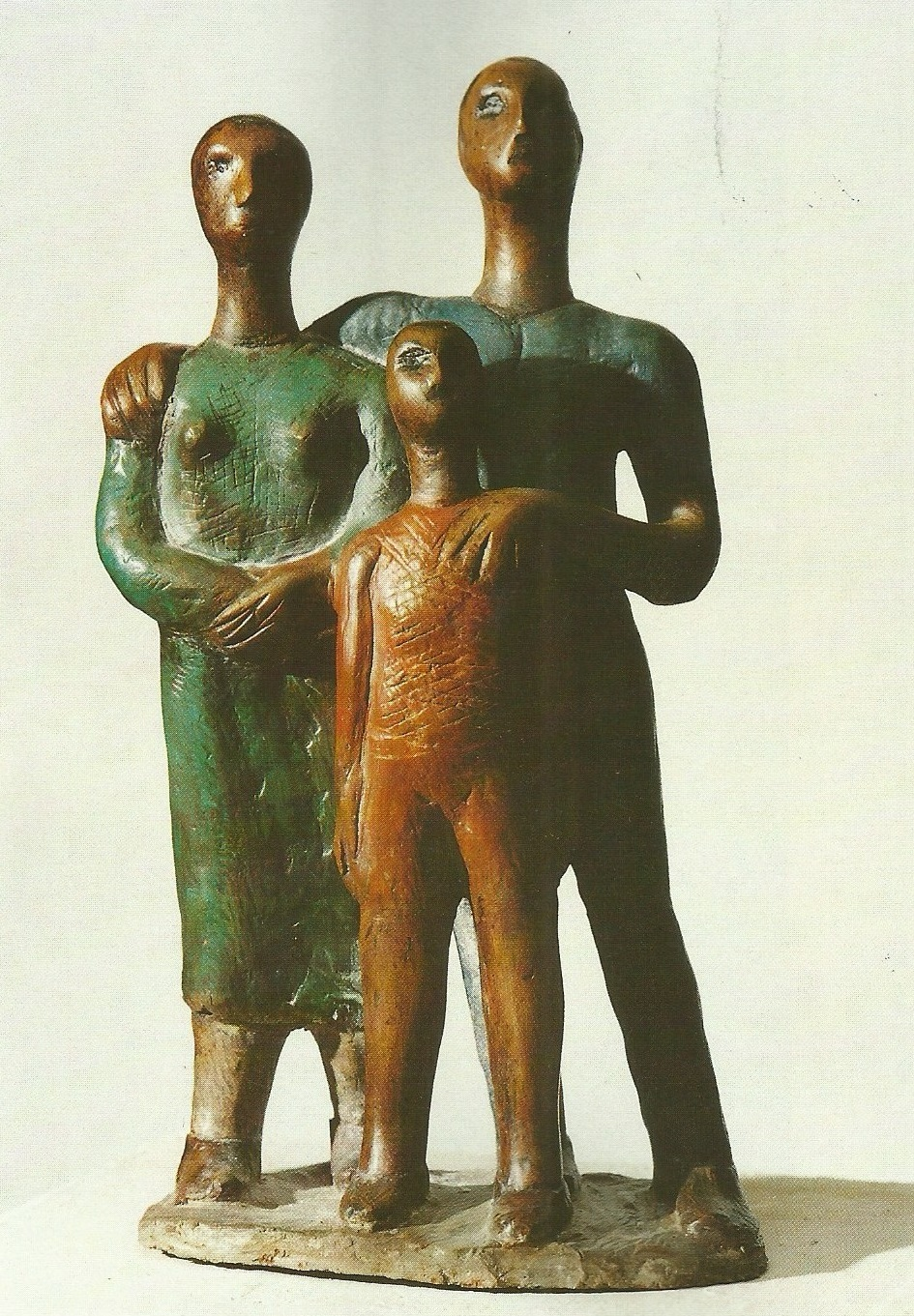 I guardiani del faro (Terracotta colorata, 1959)
