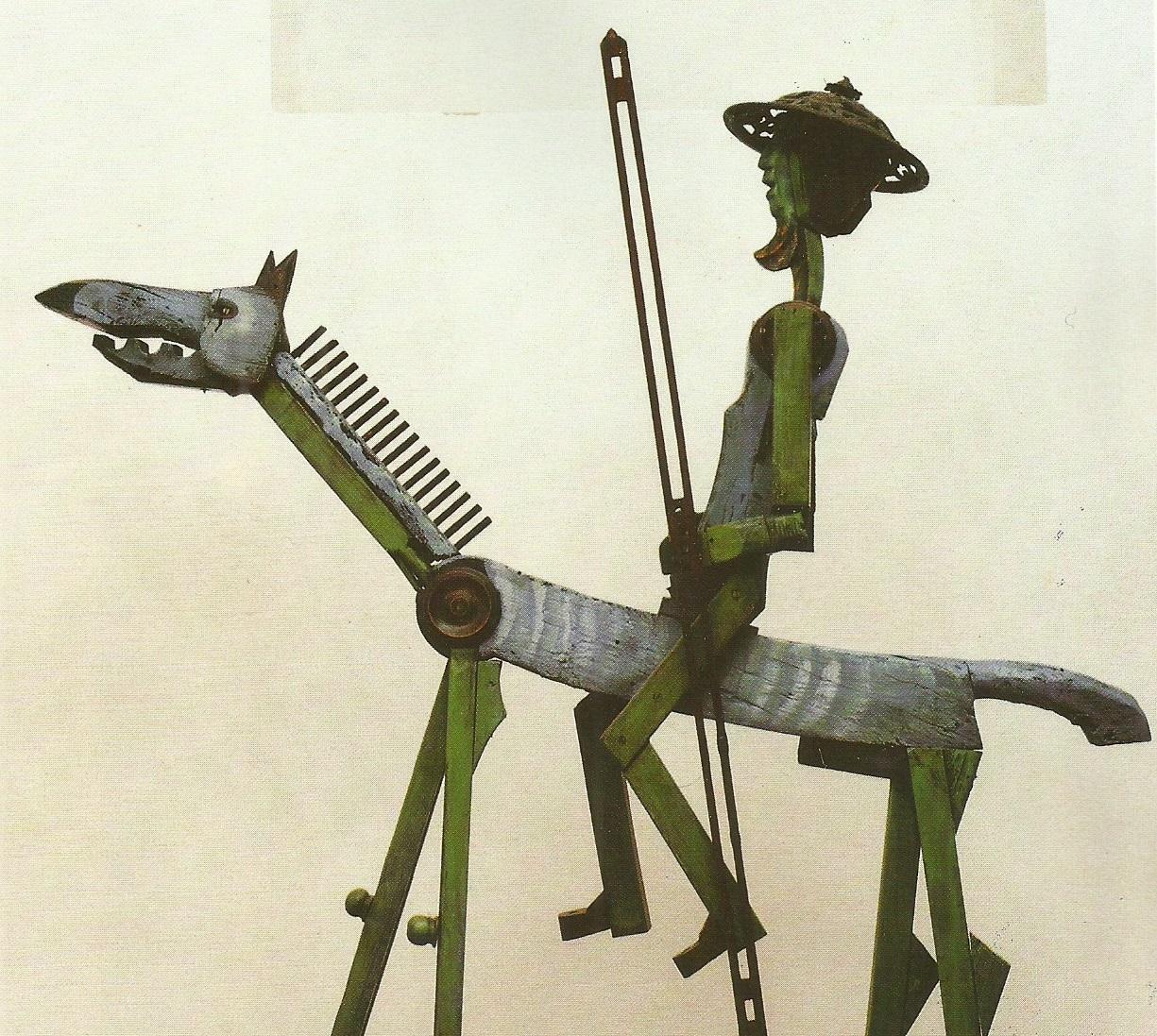 Il Don Chisciotte (Avanzi di telai di ulivo, 1972) (2)
