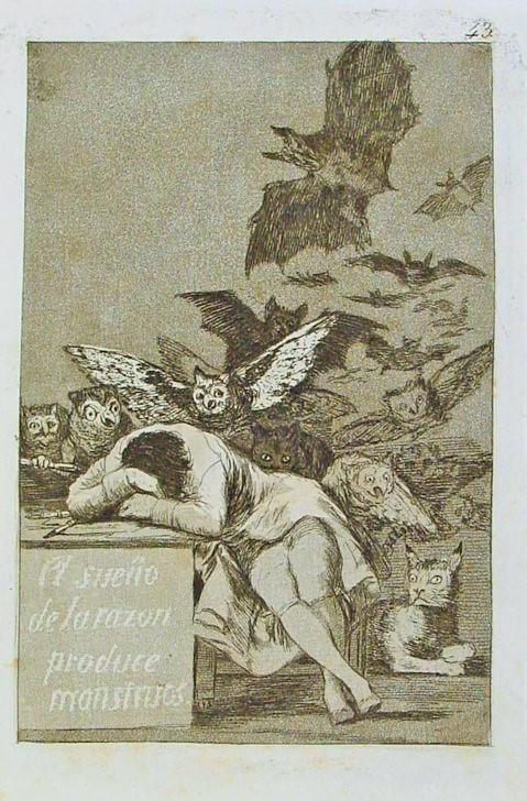 Il sonno della ragione produce mostri
