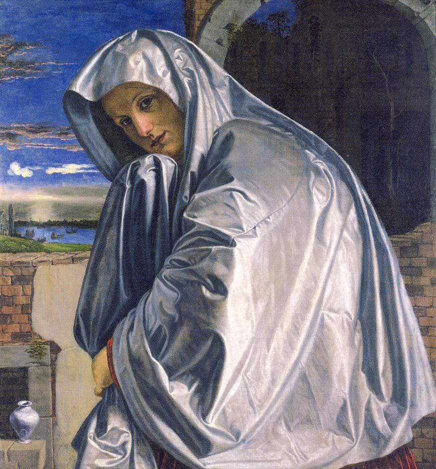 G.SAVOLDO, Santa Maria Maddalena si reca al sepolcro,1535-1540 ca., olio su tela, cm 89, 1 x 82, 4, Londra, National Gallery