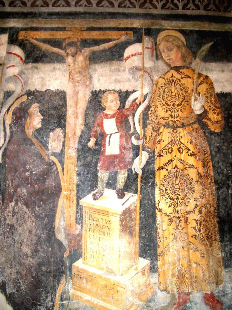 Pietro Da Cemmo (?), Il Martirio del Beato Simonino, Bienno (Bs), Chiesa dell'Annunciata