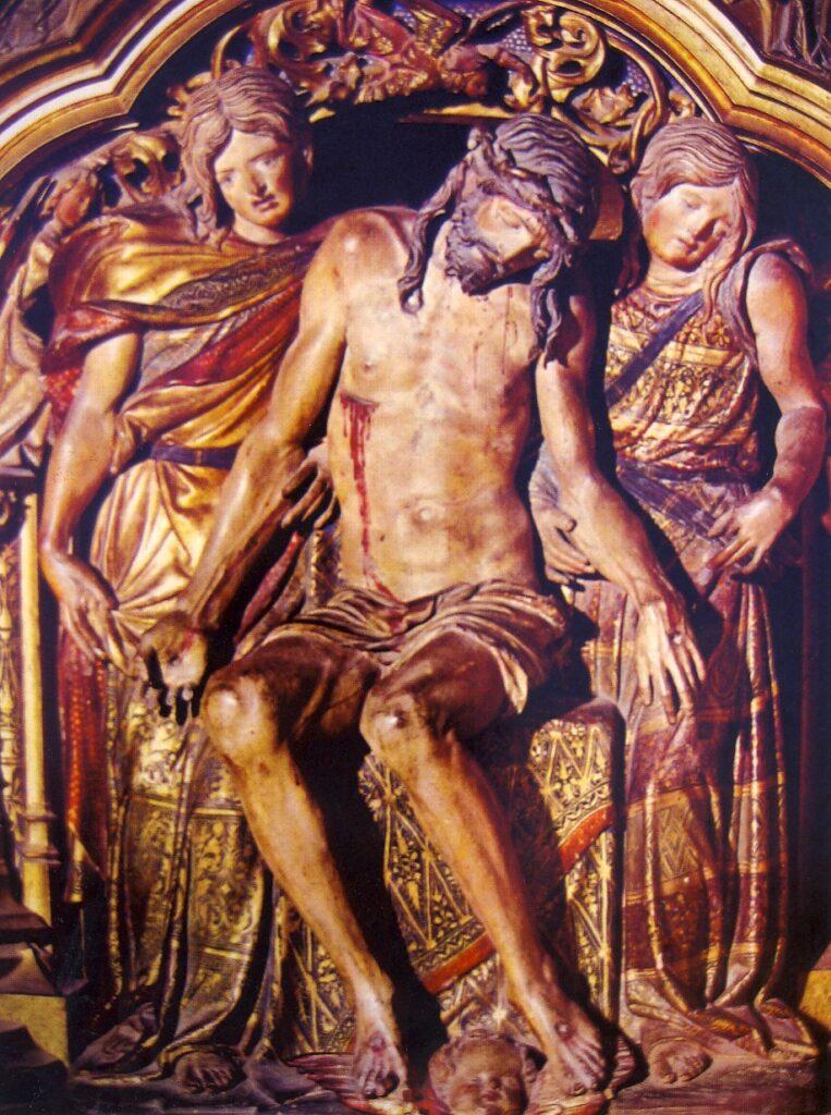 D.SILOE, Cristo tra gli angeli, XVI sec., Cattedrale di Burgos