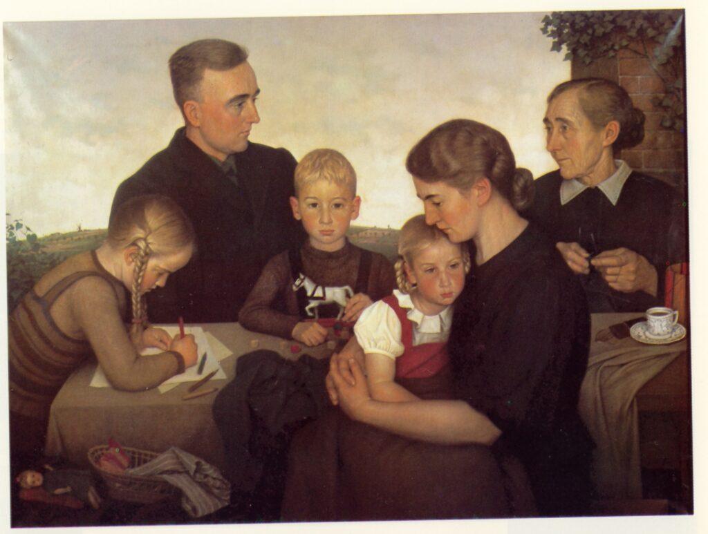 Adolf Wissel, Famiglia di contadini di Kahlenberg