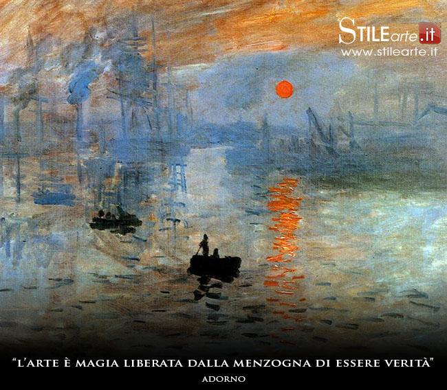 """Impression soleil levant"" , Claude Monet, 1872"