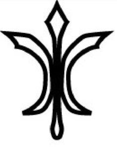 La stilizzazione dell'alabarda nelle imprese nobiliari o nelle monete