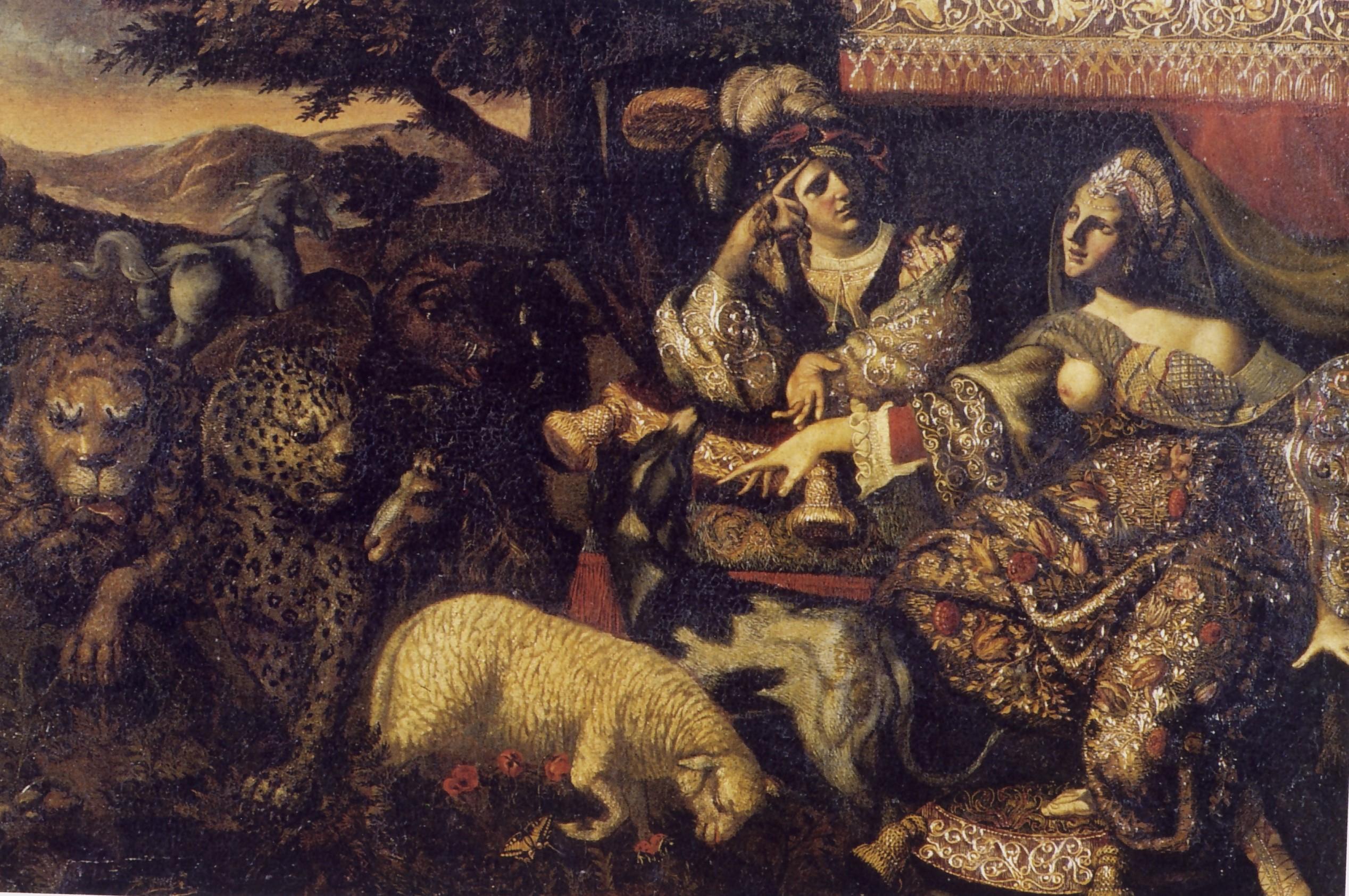 Angelo Caroselli, La maga, secolo XVII, Museo statale d'arte medievale e moderna
