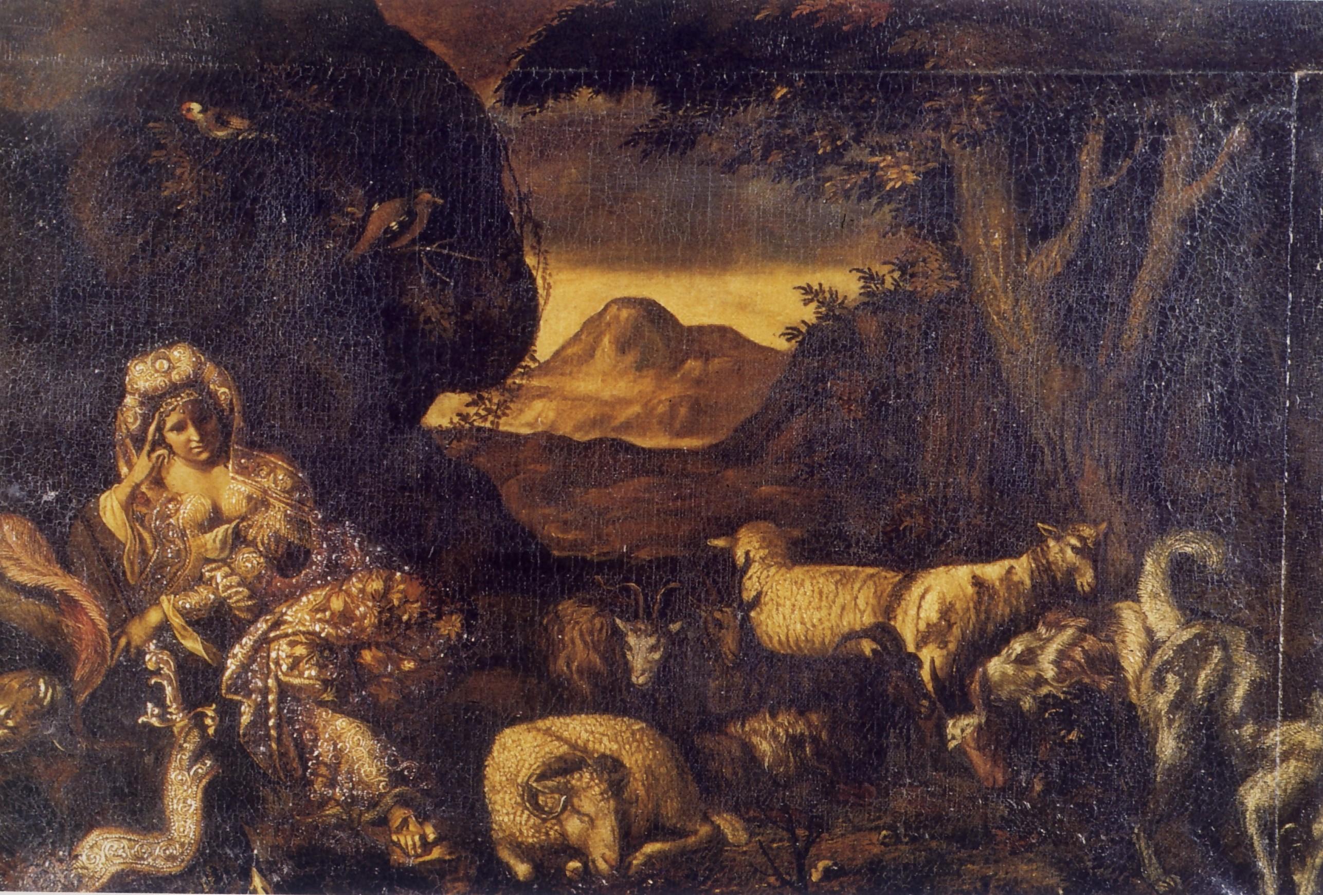 Angelo Caroselli, La strega, secolo XVII, Museo statale d'arte medievale e moderna