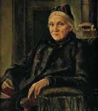 L.DODD, Ritratto di Julie Kester, non datato, olio su tela, Fürstenfeldbruck, Collezione Kester-Haeusler-Stiftung