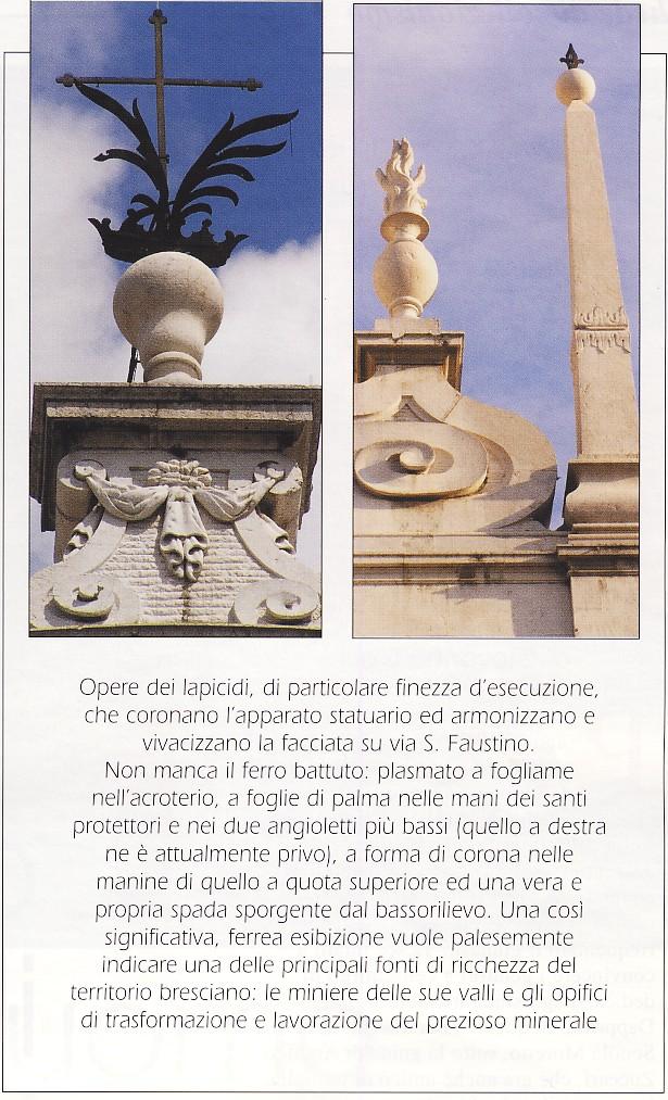 facciata di san faustino foto 3 scheda esplicativa